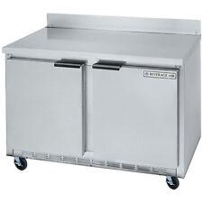 Beverage Air Wtf48A, 48-Inch Worktop Freezer with 2 Doors, Ul, cUlus, Ul-Eph