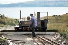 PHOTO  STEAM ENGINE LADY OF THE ISLES ISLE OF MULL RAILWAY AT CRAIGNURE STATION