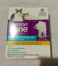 New listing Genuine Comfort Zone Multi-Cat Diffuser Kit (New damaged box) Fast Free Shipping