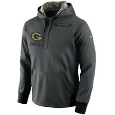 GREEN BAY PACKERS Salute to Service Hoodie 2016 Nike NFL STS Mens 3XL