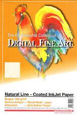 Inkjet Paper Hahnemuhle Fine Art 'Bugra' Natural Line A4, Free Postage