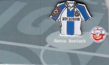 FC HANSA ROSTOCK TRIKOTPIN mit ROY ROBSON -stammt aus dem Pinrahmen-Top-FU 264