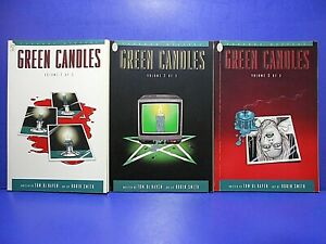 GREEN CANDLES Volumes 1, 2 & 3 complete 1995 Paradox Press  Digest TOM DeHAVEN