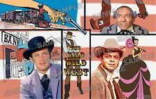 Wild Wild West TV Fan Made Poster print 11 X 17 Robert Conrad Ross Martin
