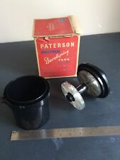 Patterson Universal Developing Tank - in original box. For All Films 35/120