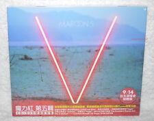Maroon 5 V 2014 Taiwan Ltd CD+DVD w/BOX (Asian Tour Limited Edition) Asia