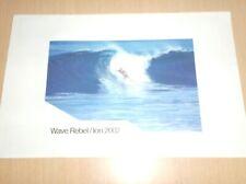 catalog vintage  00004000 bodyboard surf wave rebel ion 2002 .D