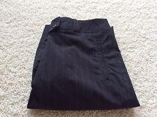 Sport Haley Golf Shorts 6 Black Brown Stripe Pants Stretch New