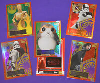 Topps 2017 Journey to Star Wars The Last Jedi Trading Cards Limited Edition Foil