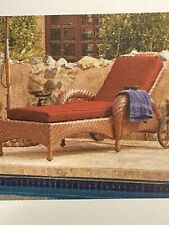 Ravenna Patio Chaise Lounge Cushion Slip Cover & Foam - Durable Outdoor Cushion,