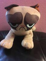 "Grumpy Cat 10"" Plush Stuffed Animal Toy Factory Big Eyes"
