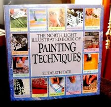 North Light Illustrated Book of Painting Techniques by Tate HCDJ Mixed Media OOP