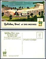 IOWA Postcard - Des Moines, Holiday Inn Q26