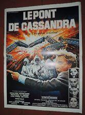Cinéma. Affiche 44 x 60. Le Pont de Cassandra. Sophia LOREN, Richard HARRIS.