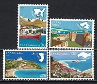 Grèce -Greece 1976 courant vues Yvert n° 1224 à 1227 neuf ** 1er choix