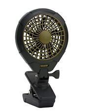 O2COOL 5-Inch Battery Operated Clip Fan, Camping Fan, Portable Fan