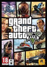 GTA 5 - Grand Theft Auto V - Standard Edition - PC Rockstar Spiel Code - Global