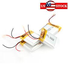 4pcs 402530 3.7V 250mAh LI-PO Rechargeable Battery Replacement Batteries