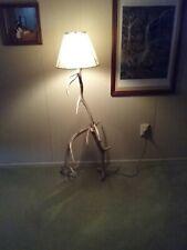 Authentic Elk horn floor lamp