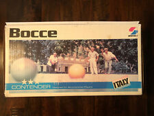 Vtg Bocce Contenders 3 * Imported from Italy by Sportscraft-great Condition-