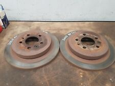 FORD BF FALCON SEDAN 2005 MDL PAIR OF REAR DISC ROTORS
