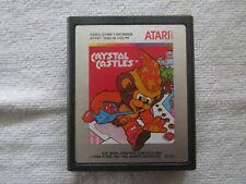 Crystal Castles Atari 2600 Cartridge Game Tested Working Retro Arcade Classic