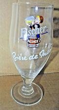 1x Glass  Verre à pied  / FISCHER - Série Bière de mars