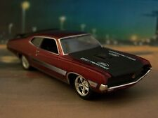 FORD RACING 1970 70 TORINO GT 521 COLLECTIBLE MODEL - 1/64 SCALE DIORAMA