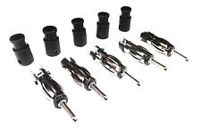From OZ Quality 5PC Car Aerial Male Plug for Radio CD Player Antenna + FREE POST