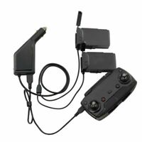 For DJI MAVIC Air Drone 3 in 1 Car Charger Battery Remote Control Charger Dock