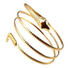 Coiled Snake Spiral Upper Arm Cuff Armlet Armband Bangle Bracelet Anklet Punk