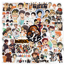 100 Japan Anime Haikyuu Stickers for Motorcycle Luggage Laptop Skateboard Decals