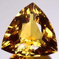 groß 13mm Trilliantschliff Facetten natürlich Brasilianischer Goldener