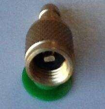 Fuel Rail Pressure Gauge Adapter for GM/Chrysler Schrader Valve Service Port -7i