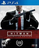PLAYSTATION 4 PS4 VIDEO GAME HITMAN DEFINITIVE EDITION BRAND NEW AND SEALED