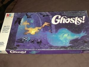 Vintage 1985 Milton Bradley GHOSTS! Board Game Complete