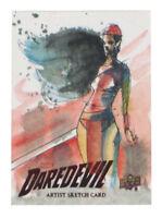 2018 Upper Deck Daredevil Season 1 & 2 Elektra Sketch Card Danny Kidwell Netflix