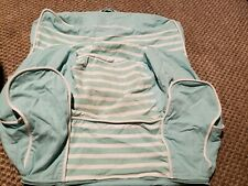 Pottery Barn Kids PBK my first anywhere chair slip cover only  aqua