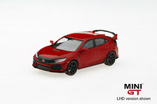 Pre Order 1/64 TSM MINI GT Honda Civic Type R FK8 Rallye Red Right Hand Side