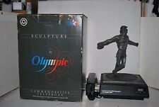 Vintage Marcel Jovine 1984 Olympics Sculpture and Phone Discus Thrower