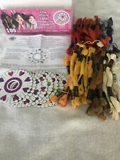 Loops & Threads Value Pack Craft Cord Craft Kit - 70 Skeins Yarn 8 Craft Wheels