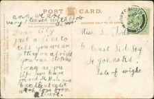 Lillian Jode. 5 East Side, St Johns Road, Isle of Wight 1905 - Albert  RN.873