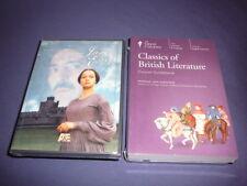Teaching Co Great Courses DVDs   CLASSICS of BRITISH LITERATURE      new + BONUS