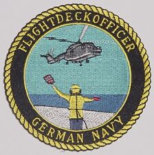 Marine Aufnäher Patch MFG 3 Sea Lynx Flighdeckofficer German Navy .......A2511