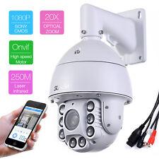 SONY CMOS 20X ZOOM HD 1080P 2.0MP Outdoor PTZ IP High Speed Camera 250M IR Audio