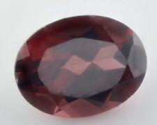 9x7mm-ovale sfaccettatura Deep-Rosso Naturale Mozambico Granato Gemstone