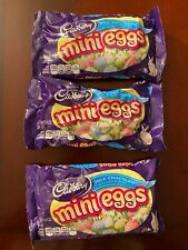 3 Packs CADBURY Milk Chocolate MINI EGGS Candy Coated 8 oz each Ships Free