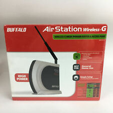Buffalo AirStation WHR-HP-G54 B G WIFI Wireless Router Access Point