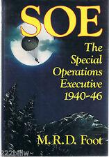 SOE Special Operations Executive 1940-46 MRD Foot hcdj