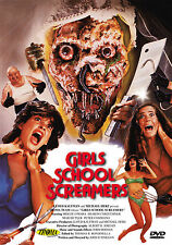 GIRLS SCHOOL SCREAMERS - DVD UNCUT MOVIES - HORREUR - TROMA - COLLECTOR